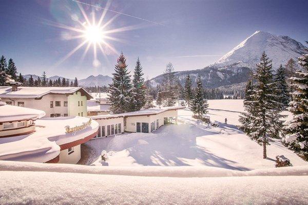 Hotel alpino Karwendel solo per adulti con piste per lo sci di fondo