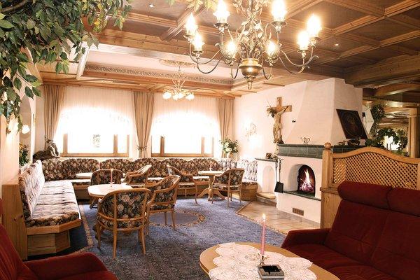 Il ristorante dell´hotel alpino Karwendel