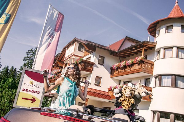 Hotel alpino Karwendel solo per adulti