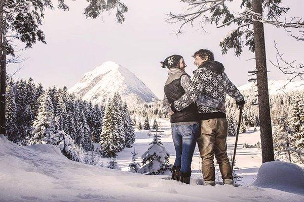 Camminare in montagna all´hotel alpino Karwendel a Seefeld