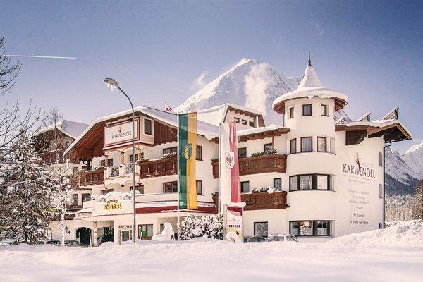 Hotel alpino Karwendel solo per adulti in inverno