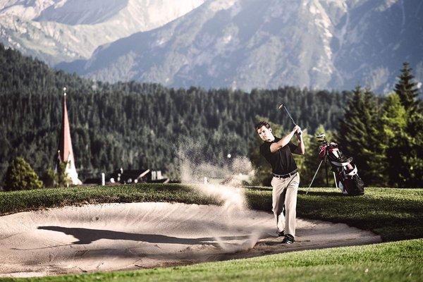Giocare a golf nella regiona Seefeld