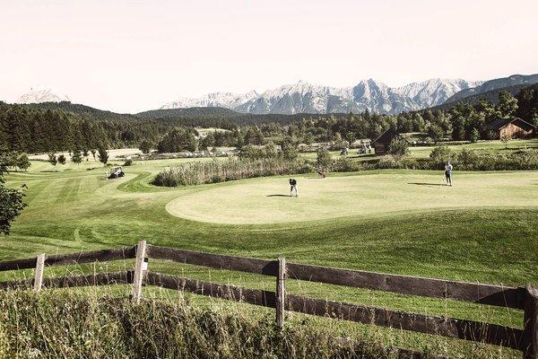 Campo da golf a Seefeld Reith dell´hotel alpino per adulti Karwendel