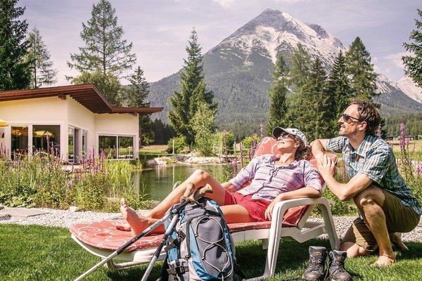 Fare camminate a Leutasch con l´hotel alpino Karwendel
